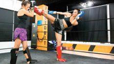Bayanlar için Kick Boks